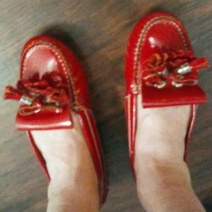 Barberry Red Driving Shoes